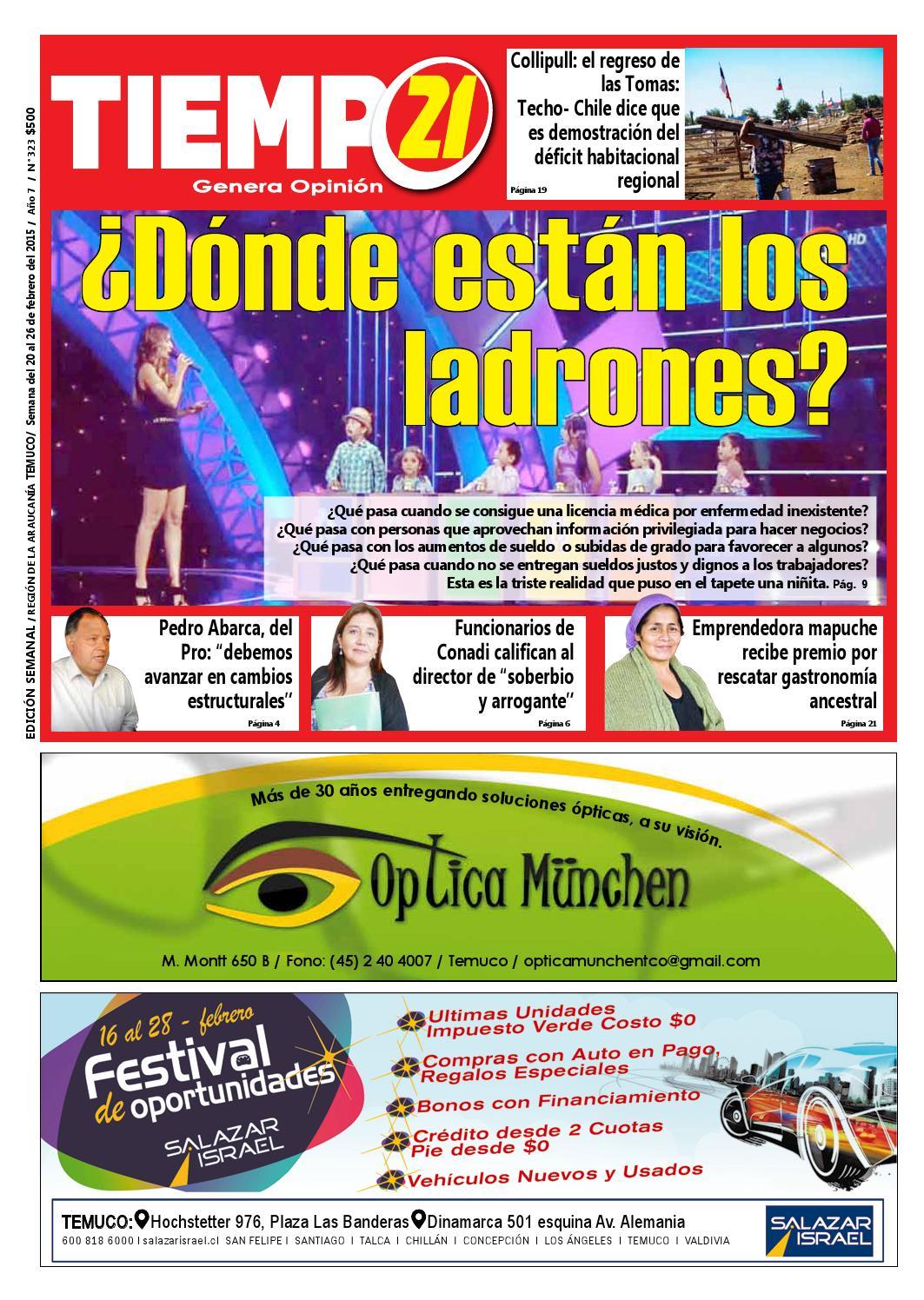 Edici N 323 Donde Est N Los Ladrones By Tiempo21 Araucan A  # Muebles Jouannet Ltda