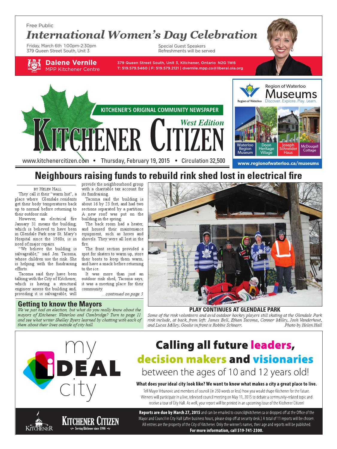 Kitchener Citizen - West Edition - February 2015 by Kitchener ...
