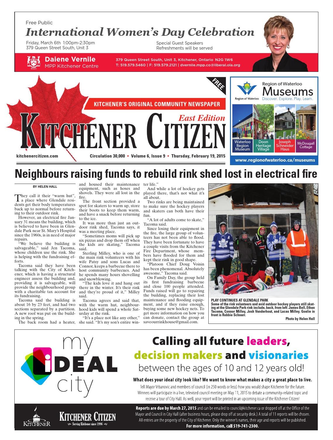 Kitchener Citizen - East Edition - February 2015 by Kitchener ...