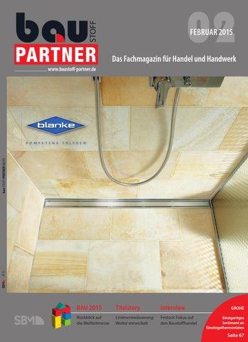 Baustoff Partner Feburar 2015 By SBM Verlag GmbH   Issuu