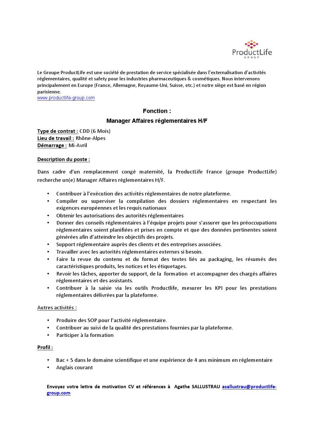 Annonce Manager Arkbv By Apiep Faculte De Pharmacie De Paris Sud 11