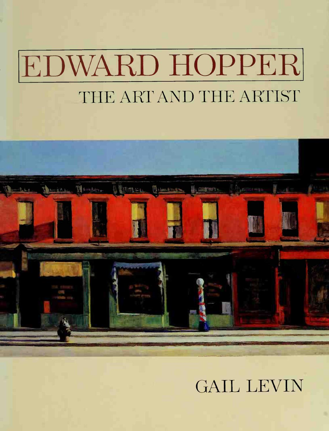 "High Road by Edward Hopper  14/""  Paper Print Repro"