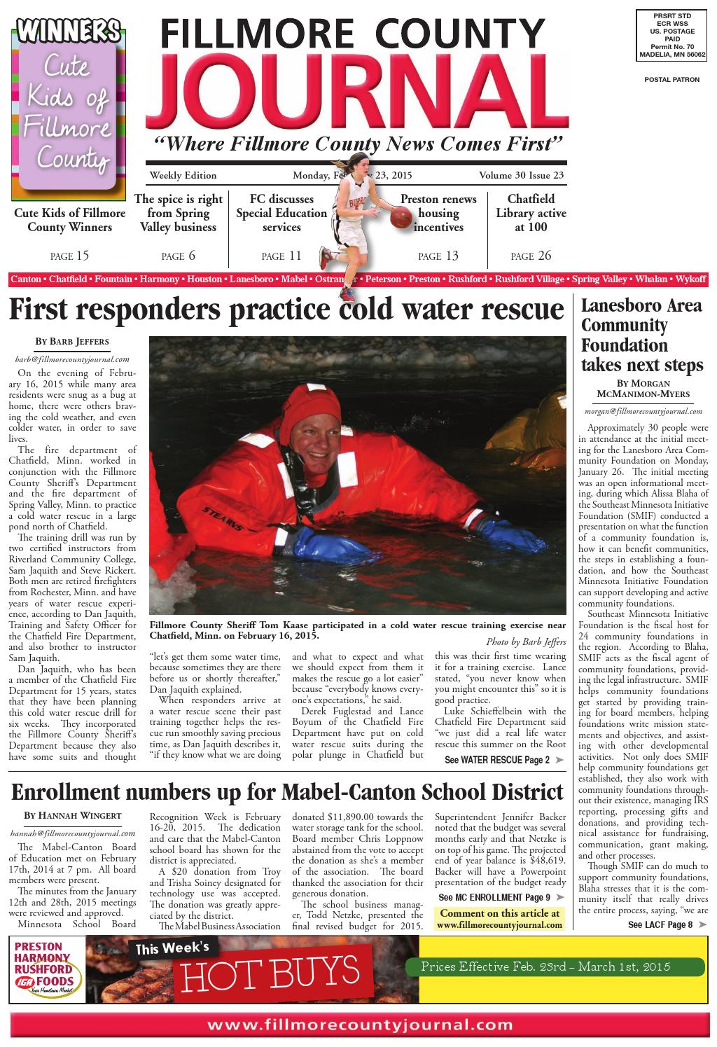 ee0c8d121319 Fillmore County Journal - 2.23.15 by Jason Sethre - issuu