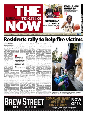 The tri cities now february 20 2015 by coquitlam now issuu page 1 fandeluxe Images