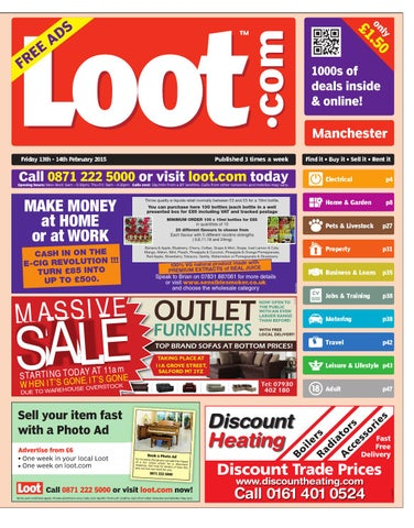 e3356cd1a88ed Loot Manchester, February 13th 2015 by Loot - issuu
