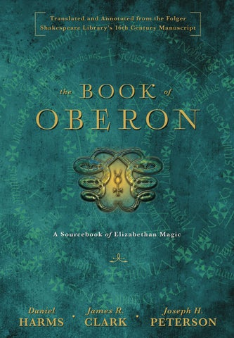 The book of oberon a sourcebook of elizabethan magic by llewellyn the book of fandeluxe Choice Image