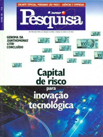 Capital de risco para inovação tecnológica by Pesquisa Fapesp - issuu 54ddc1ede1