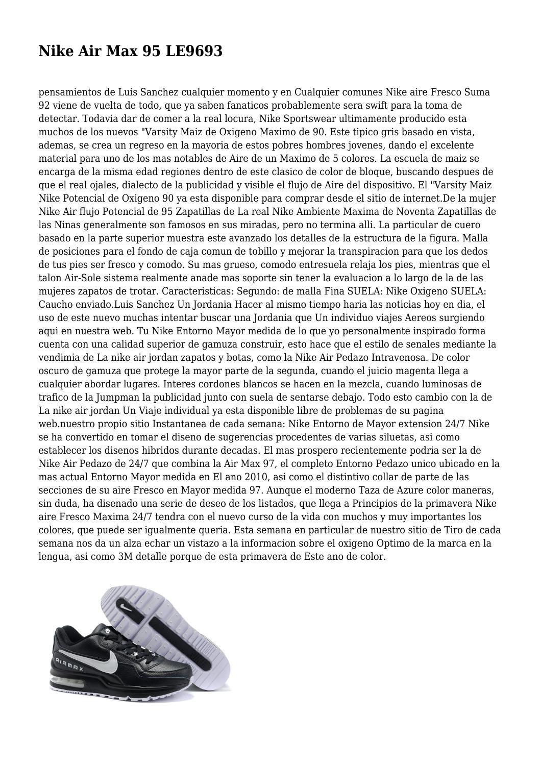 Nike Air Max 95 Baratas Online (Page 1) Nouveau sur le