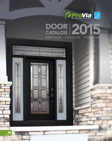DOOR. CATALOG ENTRY DOORS & Provia door catalog 2015 by Minnesotau0027s 1st Choice - issuu