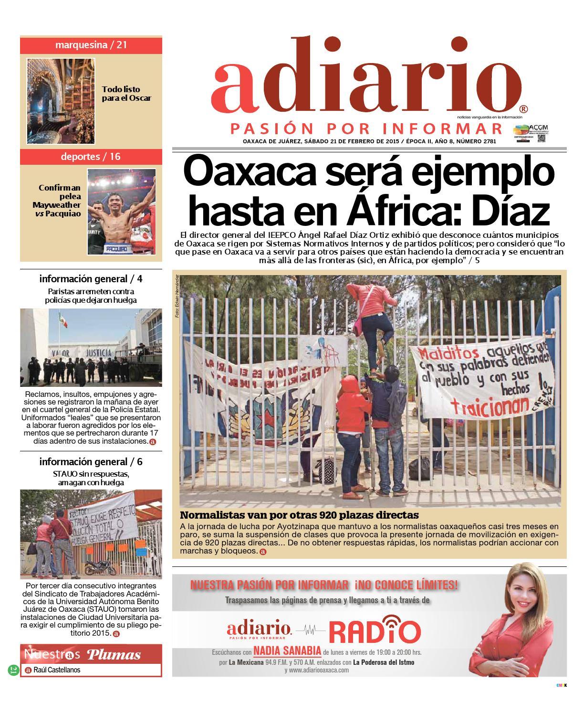 21 feb5 by Adiario Oaxaca - issuu
