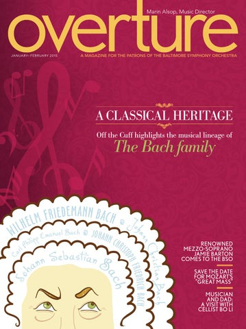 Bso Overture Jan Feb2015 By Bsomusic Issuu