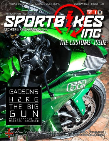 1b6c4a4c9df51 SportBikes Inc Magazine February 2015 by Hard Knocks Motorcycle ...