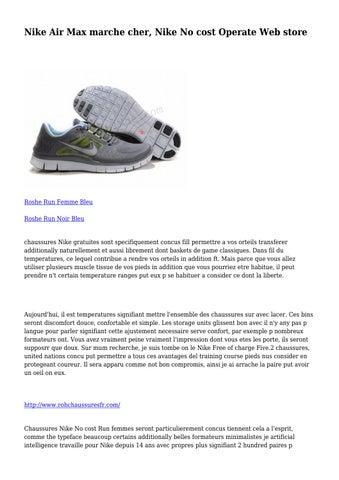 chaussure de marche femme confortable nike