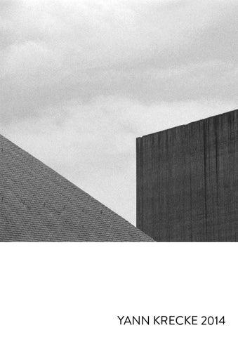 Yann Krecke Portfolio 2014 By YK