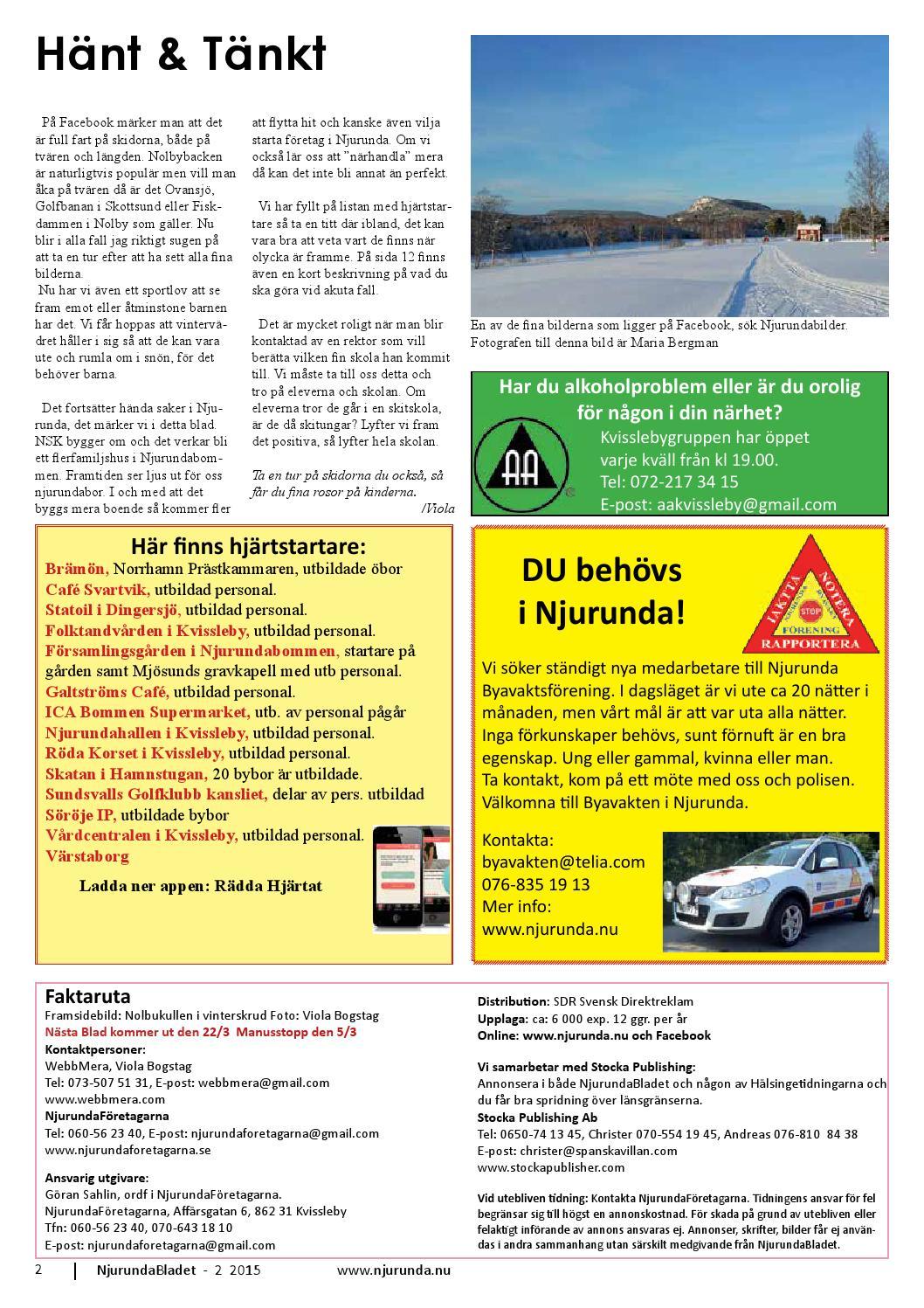 NjurundaBladet 2018 12 by NjurundaFretagarna - issuu