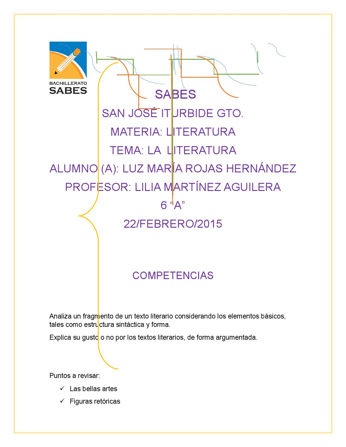 Literatura Luz By Modee Rojas Ledesma Issuu