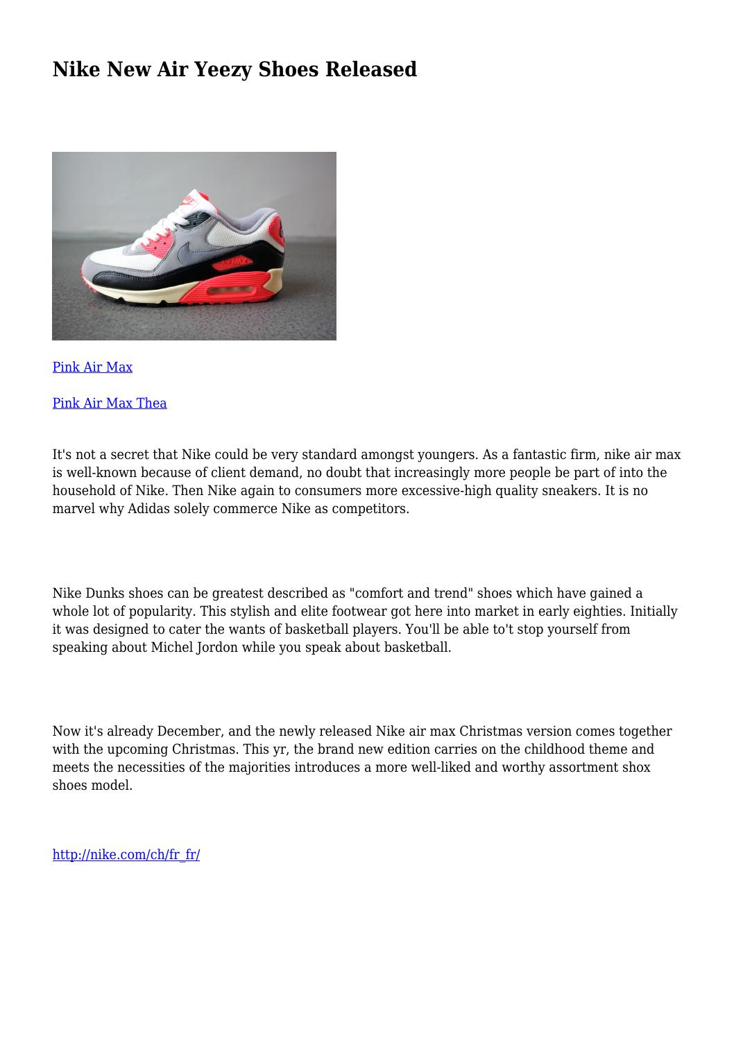 6000c89e1d1be Nike New Air Yeezy Shoes Released by psychotichardwa27 - issuu