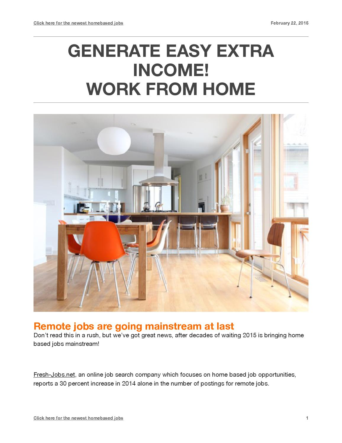 Work at home by Ionut Griga - issuu