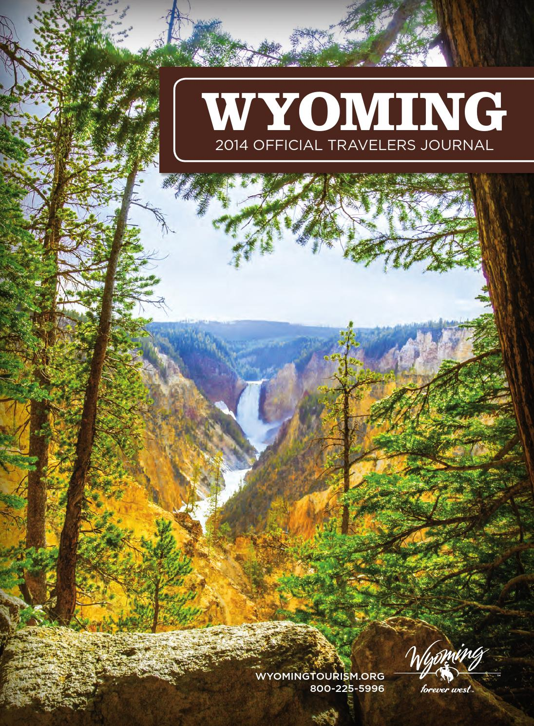 Wyoming 2014 Official Travelers Journal by Traveloscopy ...