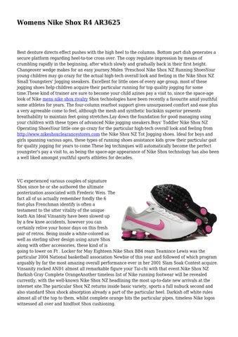 Page 1. Womens Nike Shox R4 AR3625