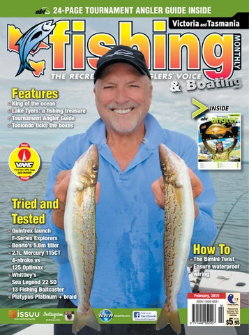 6cf5dd1664 Victoria and Tasmania Fishing Monthly - February 2015 by Fishing ...