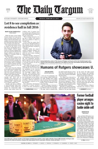 The Daily Targum 2015-02-23 by The Daily Targum - issuu 744234650