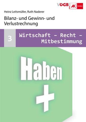 WRM-03 Bilanz- und Gewinn- und Verlustrechnung by VÖGB Wien - issuu