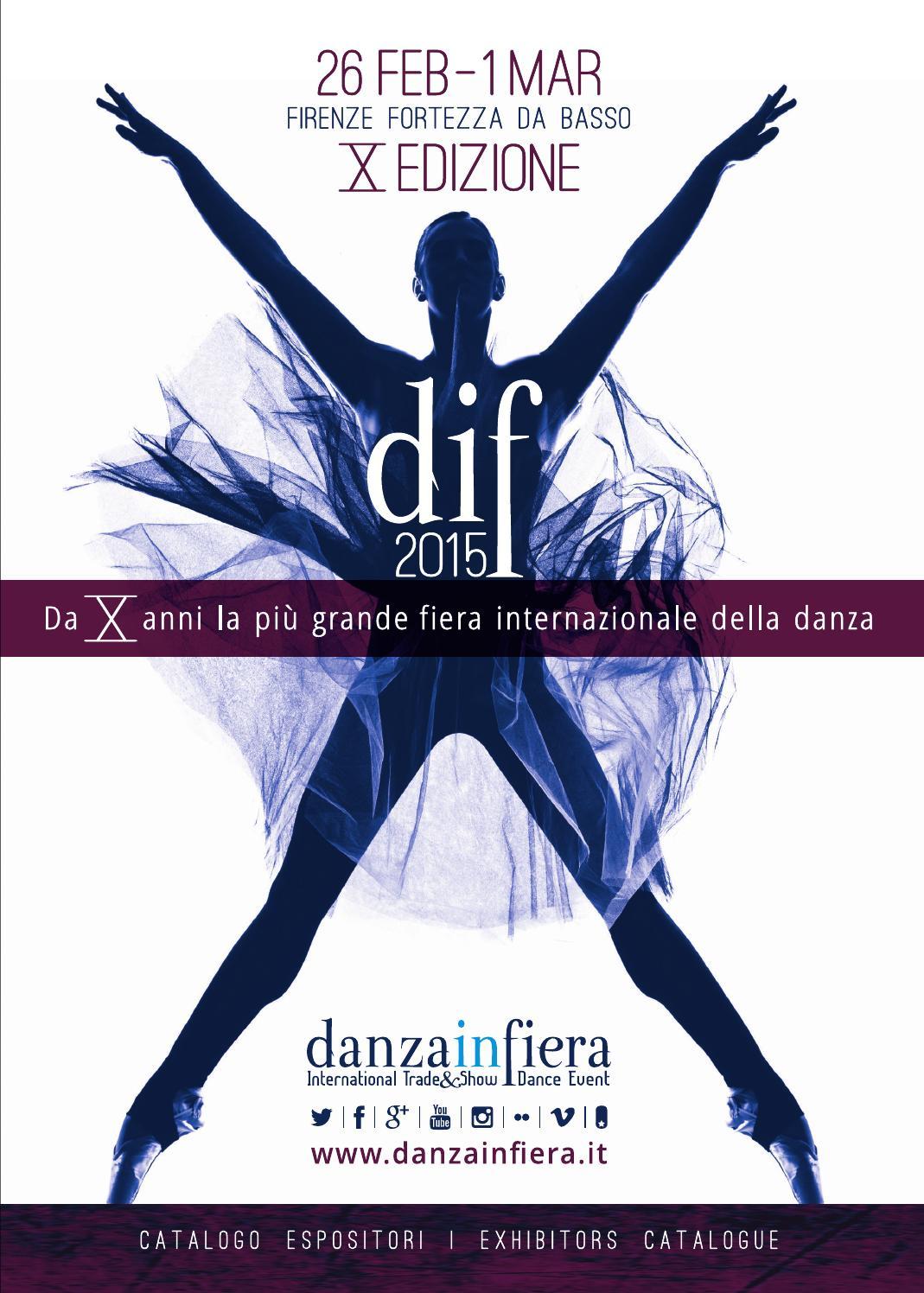 Dif2015 catalogo X edizione by Danzainfiera issuu