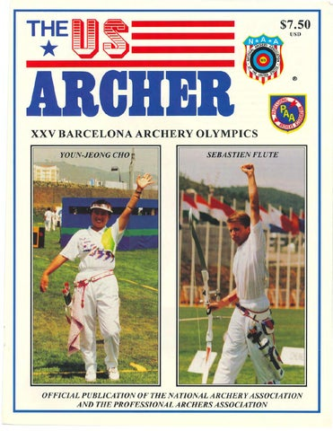 The Us Archer Olympic Issue 1992 By Davy Goedertier Issuu
