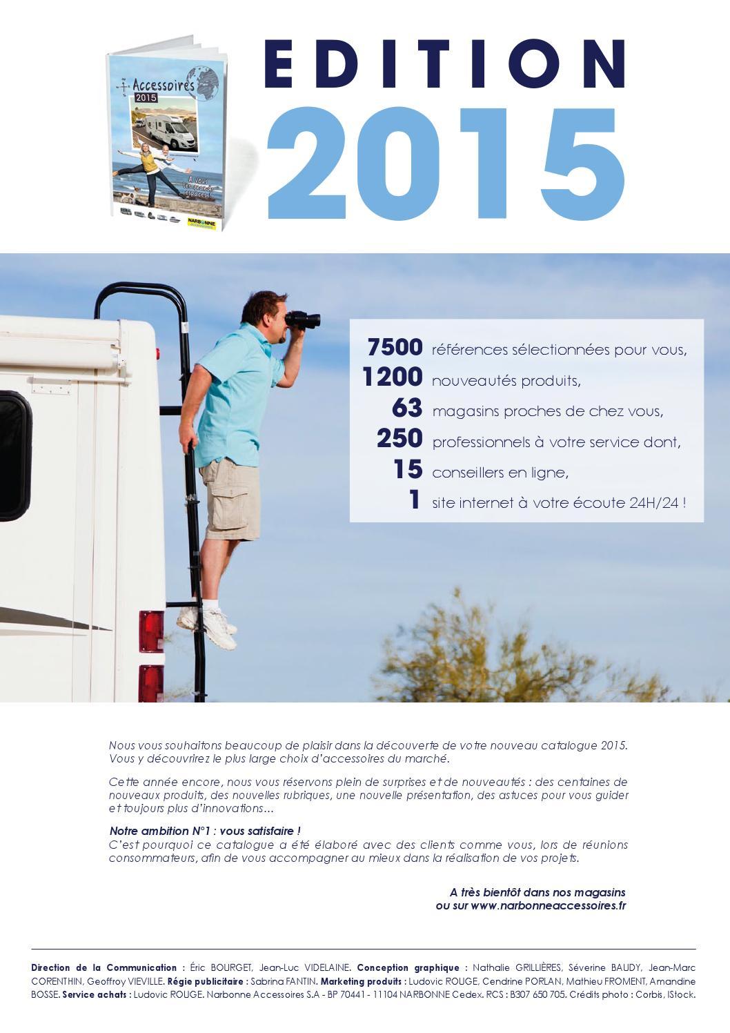 toujours populaire couleurs délicates qualité Catalogue 2015 - Sommaire by Narbonne Accessoires - issuu