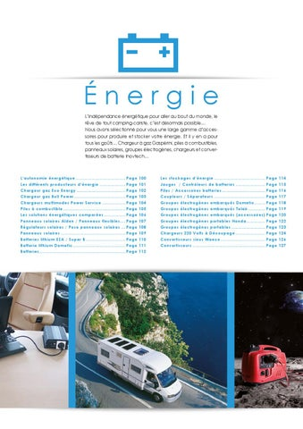 Catalogue 2015 Energie By Narbonne Accessoires Issuu