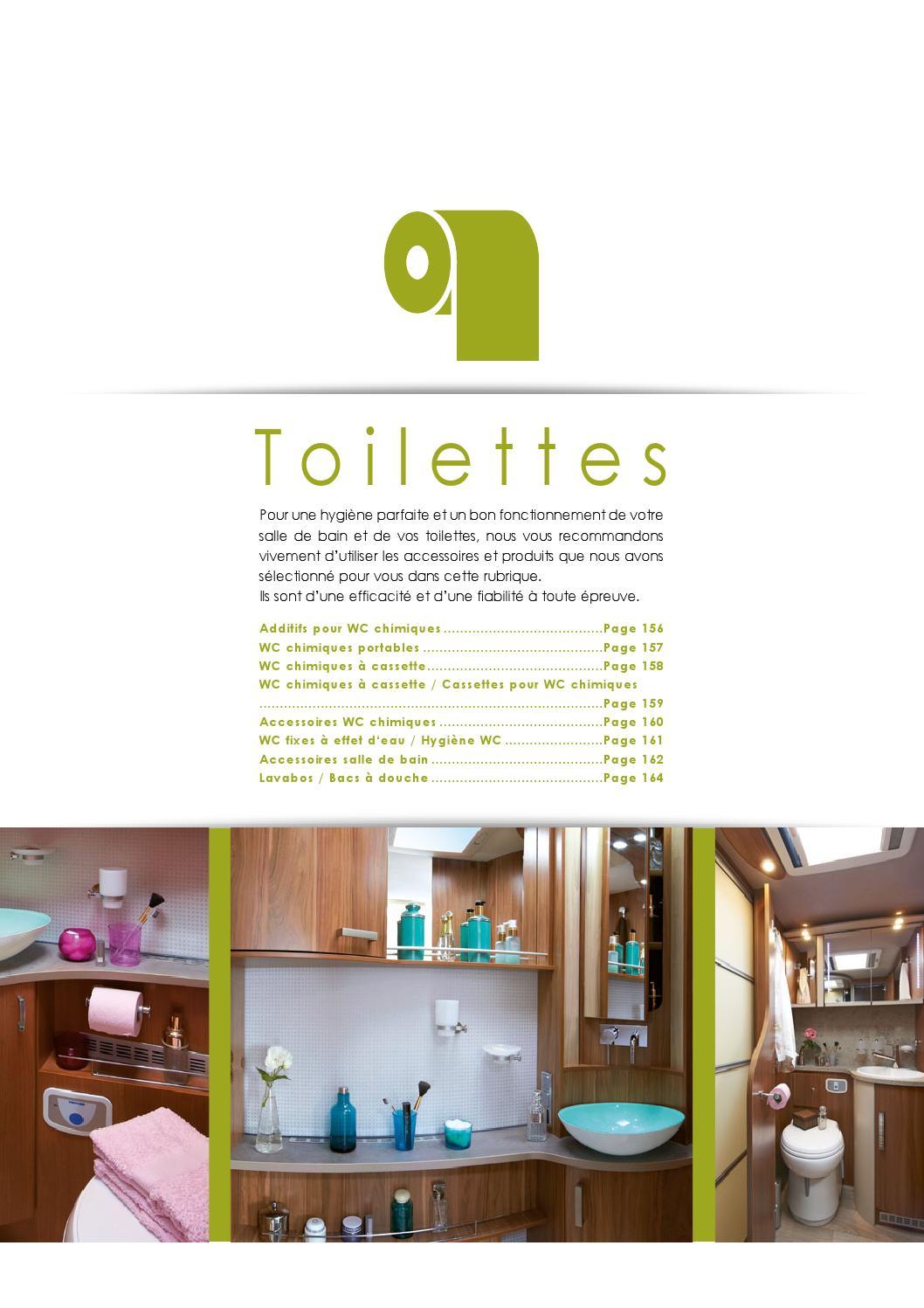 Fonctionnement Wc Chimique en ce qui concerne catalogue 2015 - toilettesnarbonne accessoires - issuu