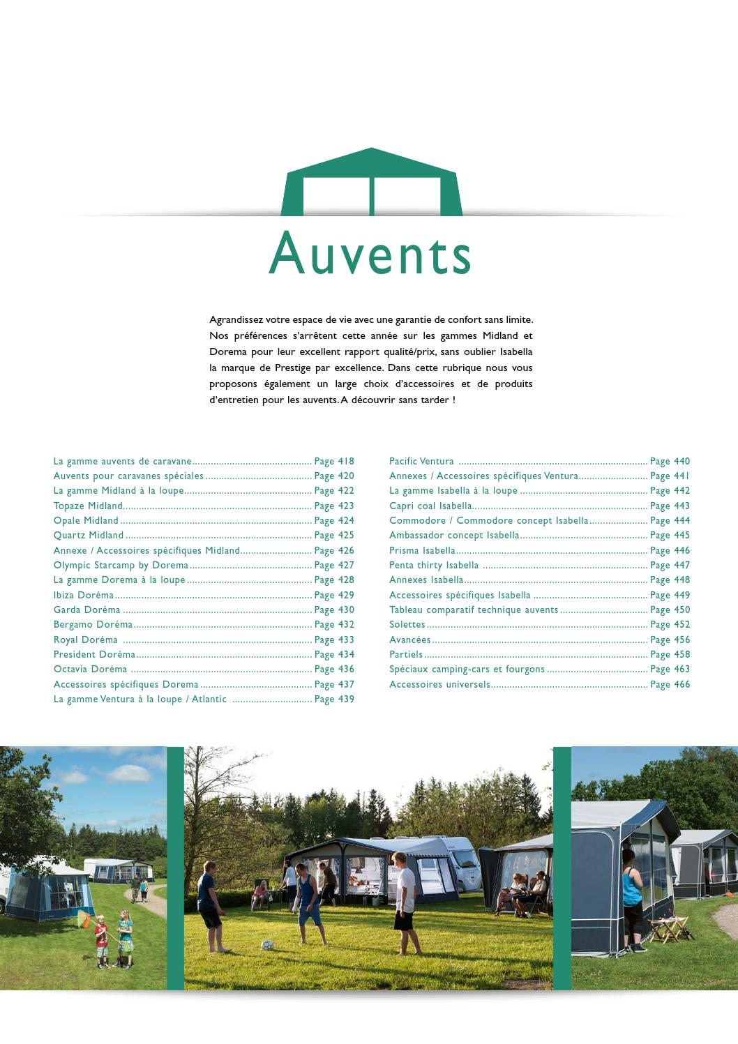 Catalogue 2015 - Auvents by Narbonne Accessoires - issuu 3c2c3bcfa5a4