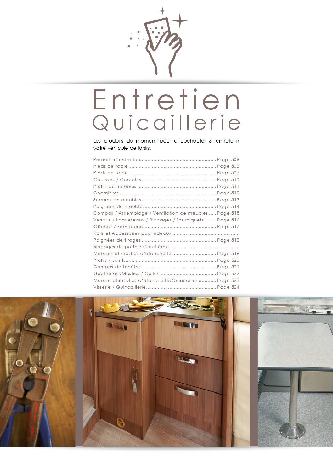 Narbonne Accessoires Pied de Table basculant Aluminium Gris
