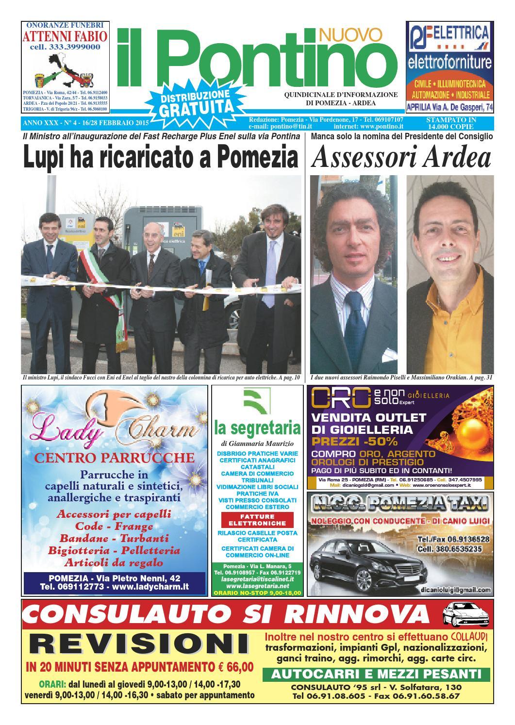 new concept 8fbb7 b8a12 Il Pontino Nuovo - ANNO XXX N°4 - 16 28 Febbraio 2015 by Il Pontino Il  Litorale - issuu