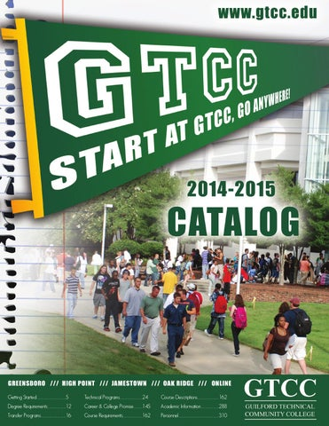 Gtcc 2014 2015 catalog by guilford technical community college issuu getting started5 fandeluxe Image collections