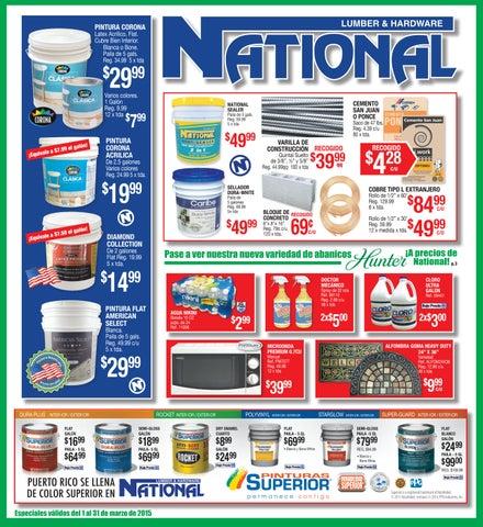 Shopper National Lumber Amp Hardware By El Vocero De