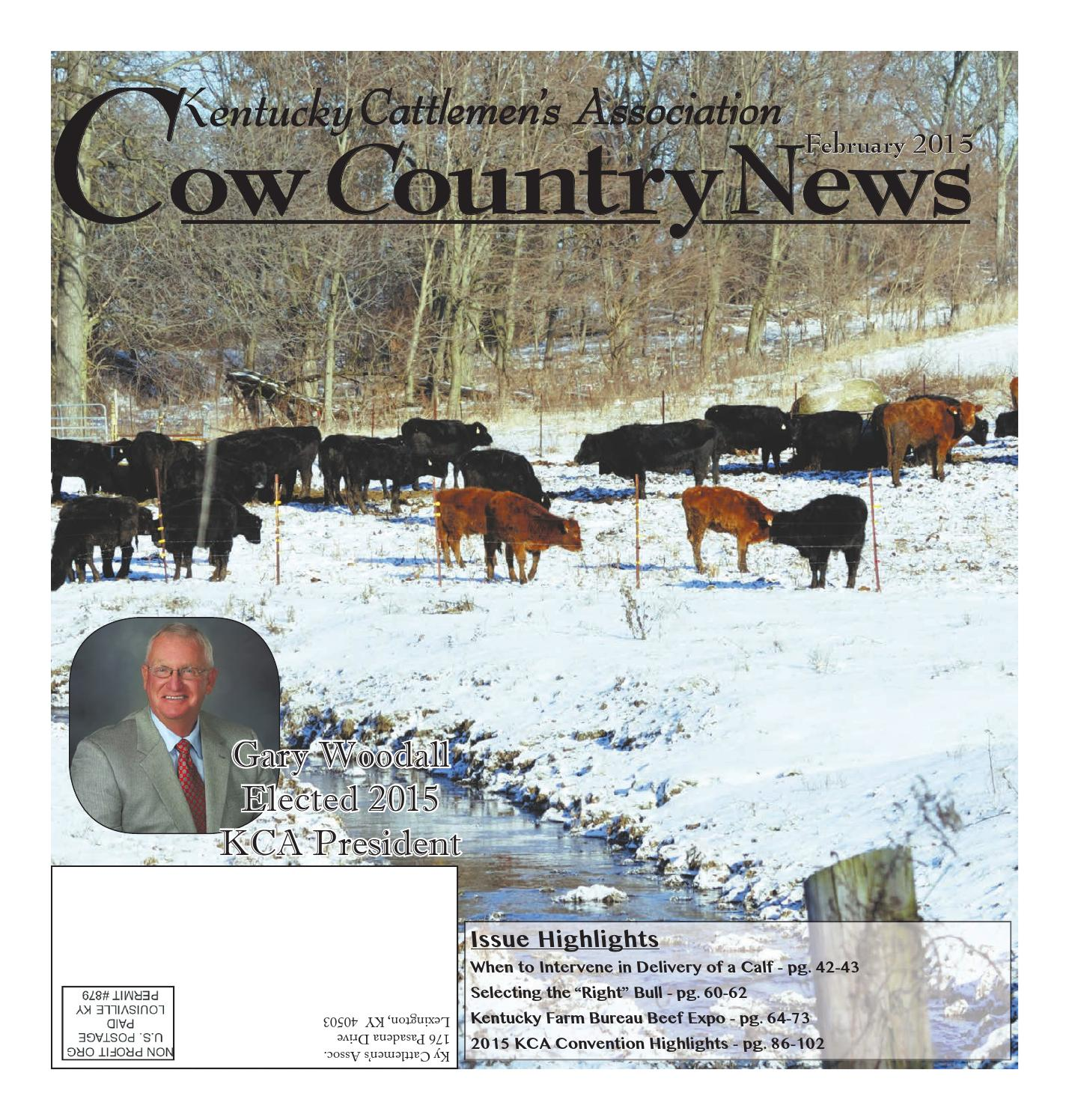 Cow Country News February 2015 by