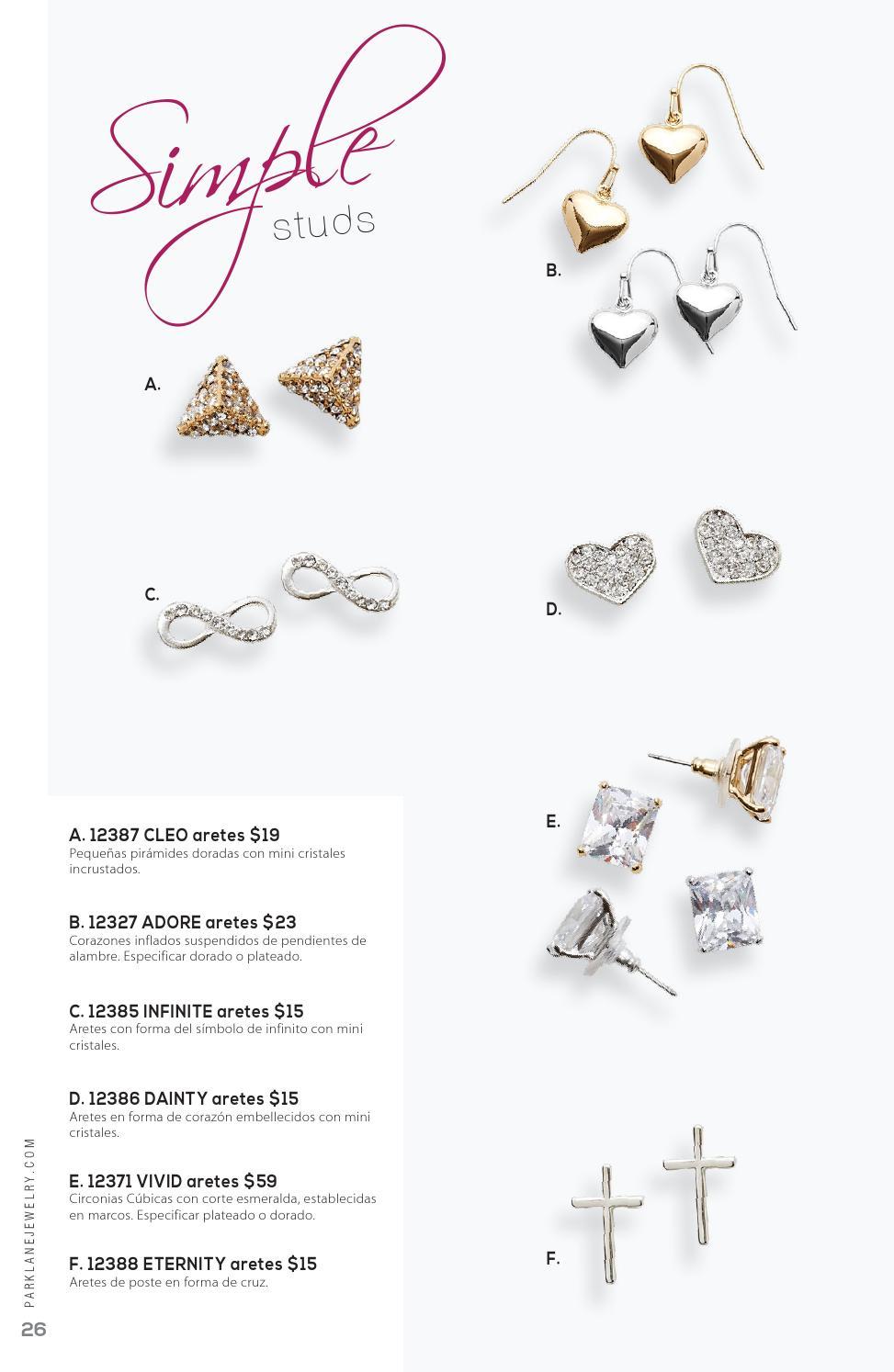 Park Lane Jewelry 2015 Spring/Summer Spanish Catalog by Park Lane ...