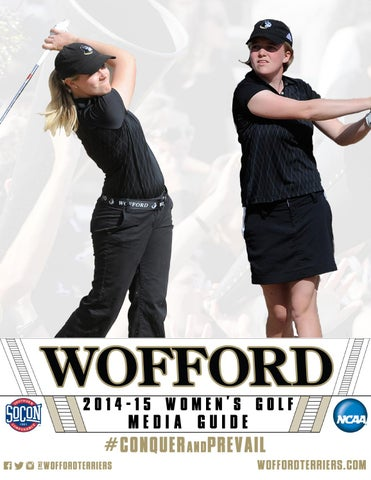 8dc59c7be4a2c 2014-15 Wofford Women s Golf Media Guide by Wofford Athletics - issuu