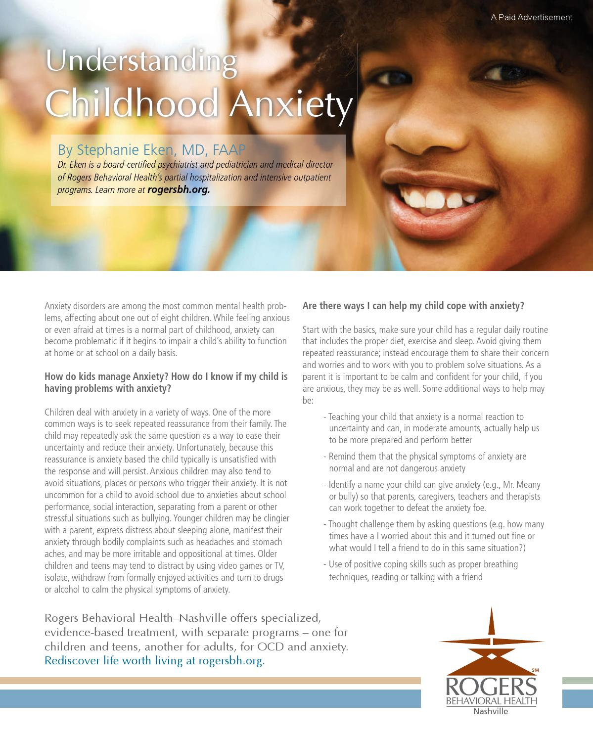 Child Psychiatrists If Kids Are Feeling >> Sp0315 By Day Communications Daycom Media Issuu