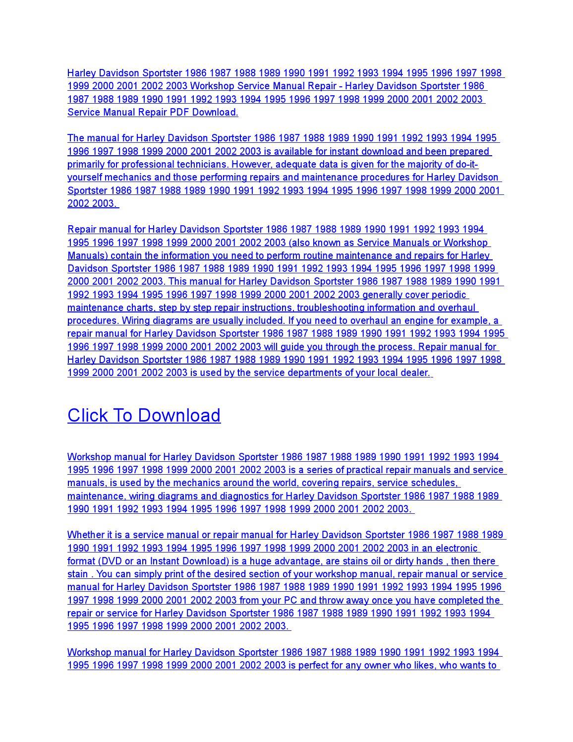Harley davidson sportster 1986 1987 1988 1989 1990 1991 1992 ... on harley starter wiring diagram, 2001 sportster ignition system diagram, triumph speed triple wiring diagram, harley-davidson street glide wiring diagram, ducati 998 wiring diagram, harley-davidson tail light wiring diagram, split unit air conditioner wiring diagram, harley-davidson motorcycle parts diagram, chevrolet ssr wiring diagram, harley-davidson ultra classic wiring diagram, simple harley wiring diagram, harley-davidson golf cart wiring diagram, 1200 custom wiring diagram, harley-davidson gas tank diagram, honda cbr 600 parts diagram, harley-davidson street glide parts diagram, harley sportster oil line diagram, 1999 ford explorer electrical wiring diagram, harley dyna s ignition wiring diagram, harley wiring harness diagram,