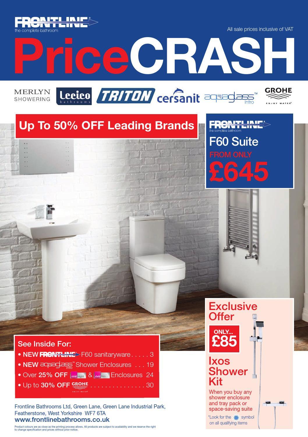 Frontline Price crash 2014 by Rubberduck Bathrooms Ltd - issuu