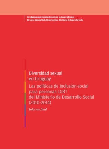 Diversidad Sexual En Uruguay By Dirección Nacional De