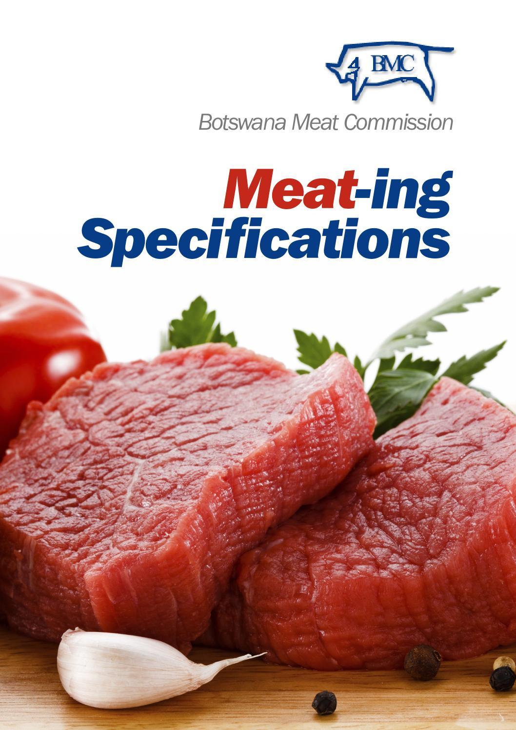 Botswana Meat Commission Brochure 2013 By Fdf World Issuu