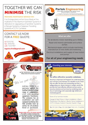Botswana Meat Commission Brochure - 2013 by FDF World - issuu