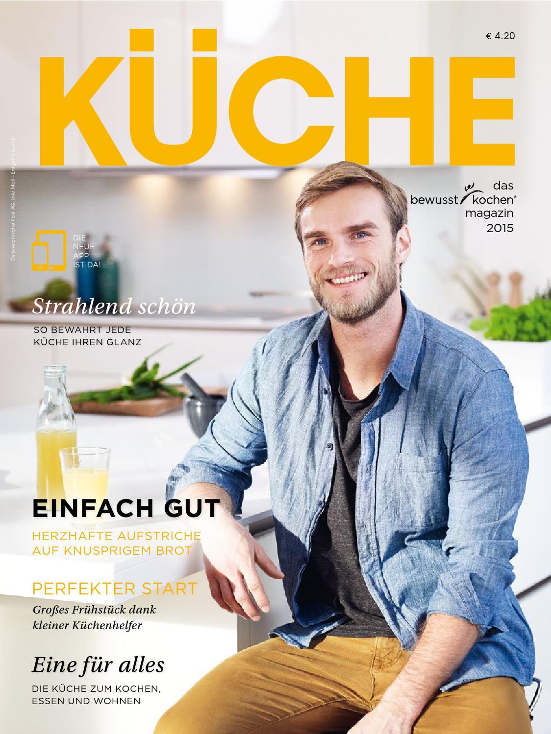 Küche Magazin 2015 by Roman Gangl Möbelhandel - Tiroler Küchenstudio ...