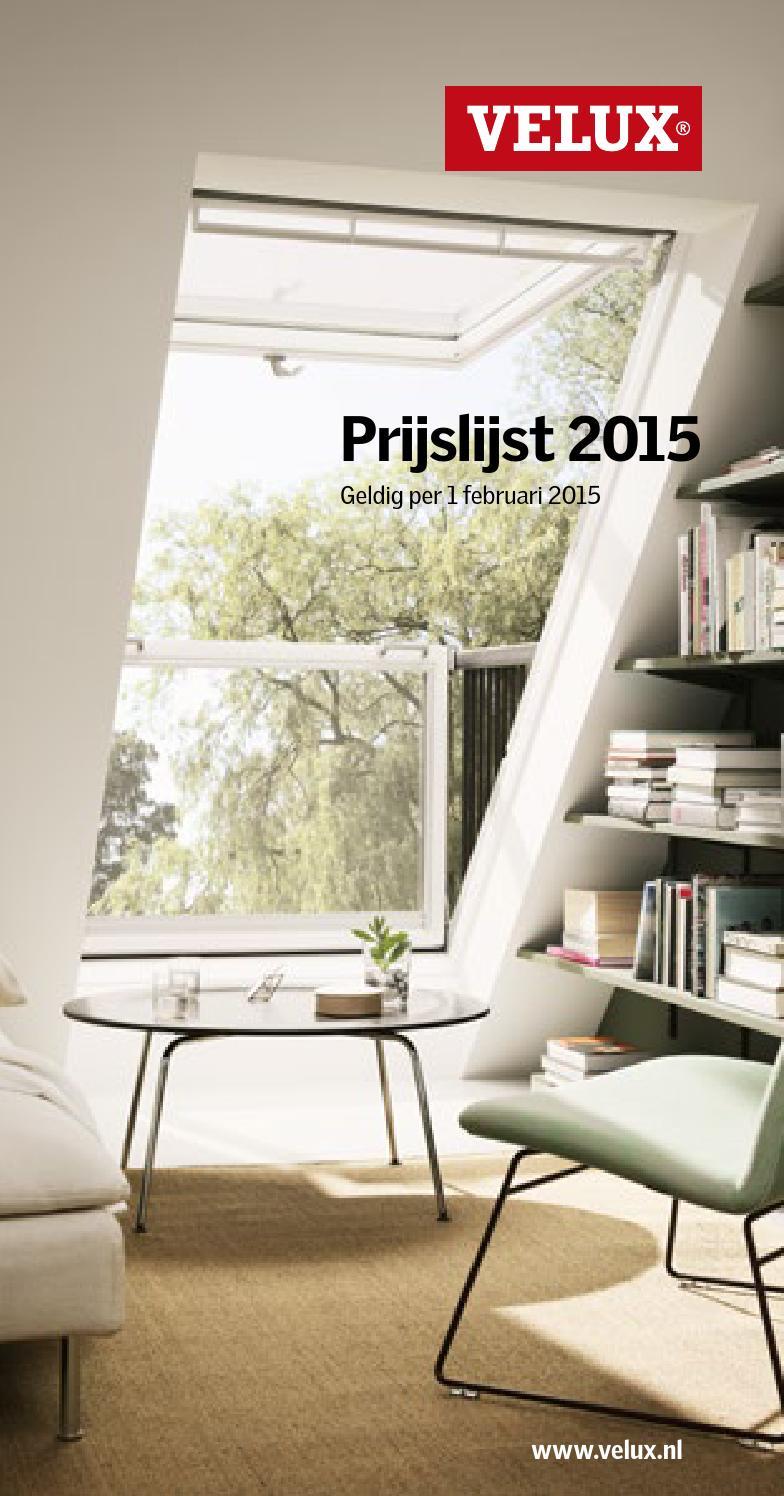 velux mini prijslijst 2015 spread by velux nederland b v issuu. Black Bedroom Furniture Sets. Home Design Ideas