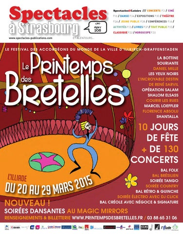 Spectacles Publications à Strasbourg n°180   Mars 2015 by SPECTACLES ... f5103679342a