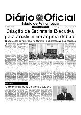 bd6cec86a D.O ALEPE 24.02.2015 by Assembleia Legislativa do Estado de ...